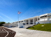 Architects Paul Rudolph's Sarasota High School Renovation by Tandem Const.