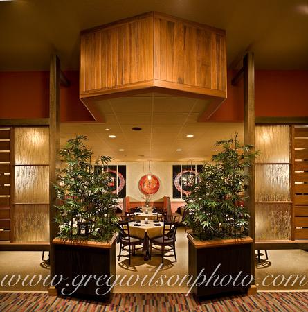 Great Kurt Lucas Interior Design, Daruma Restaurant, Sarasota, Florida